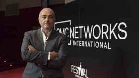 Manuel Balsera en el Festival de Televisión de Vitoria-Gasteiz.