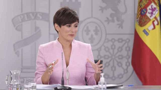 La ministra Isabel Rodríguez, en una imagen reciente