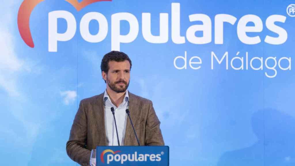 Pablo Casado en Málaga.