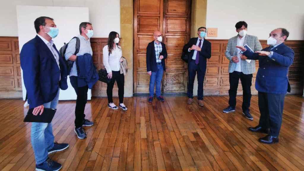 Integrantes de la Cátedra Innova de la Universidad de Oviedo.