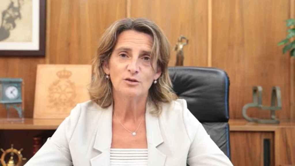 Teresa Ribera, vicepresidenta tercera del Gobierno y ministra para la Transición Ecológica y el Reto Demográfico
