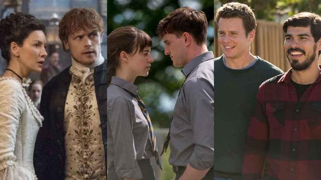 'Outlander', 'Normal People' y 'Looking' destacan entre las mejores series románticas.