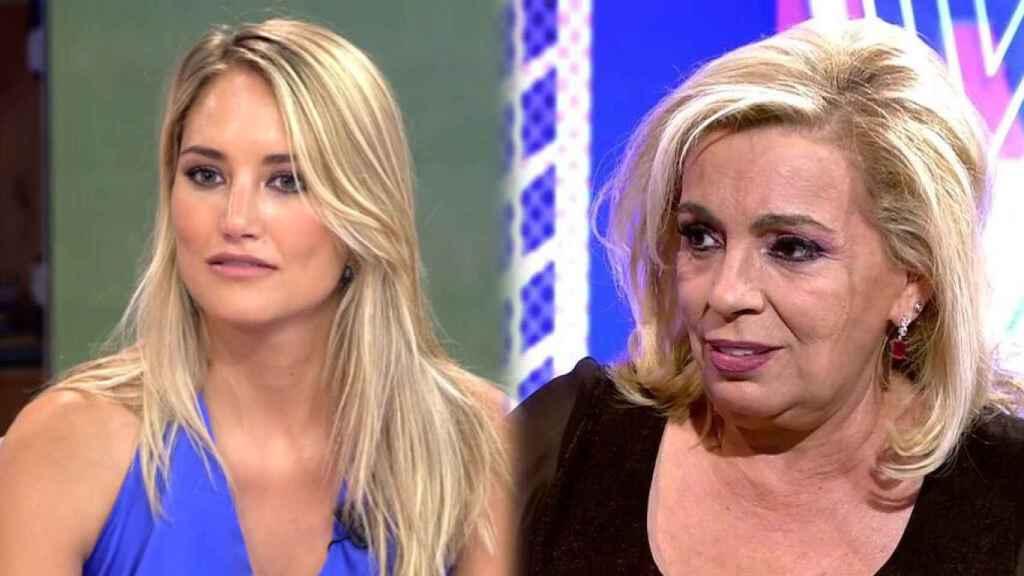 Carmen Borrego y Alba Carrillo volverán a 'Sálvame' como nuevas colaboradoras