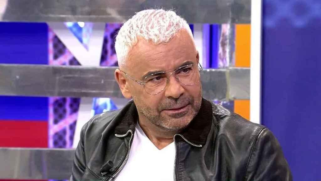Jorge Javier Vázquez durante su entrevista en 'Viernes Deluxe'
