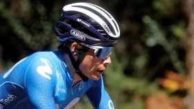 'Superman' López en la 20ª etapa de La Vuelta 2021