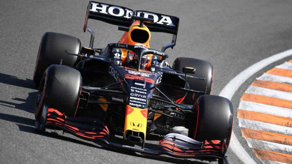Verstappen en el Gran Premio de Países Bajos