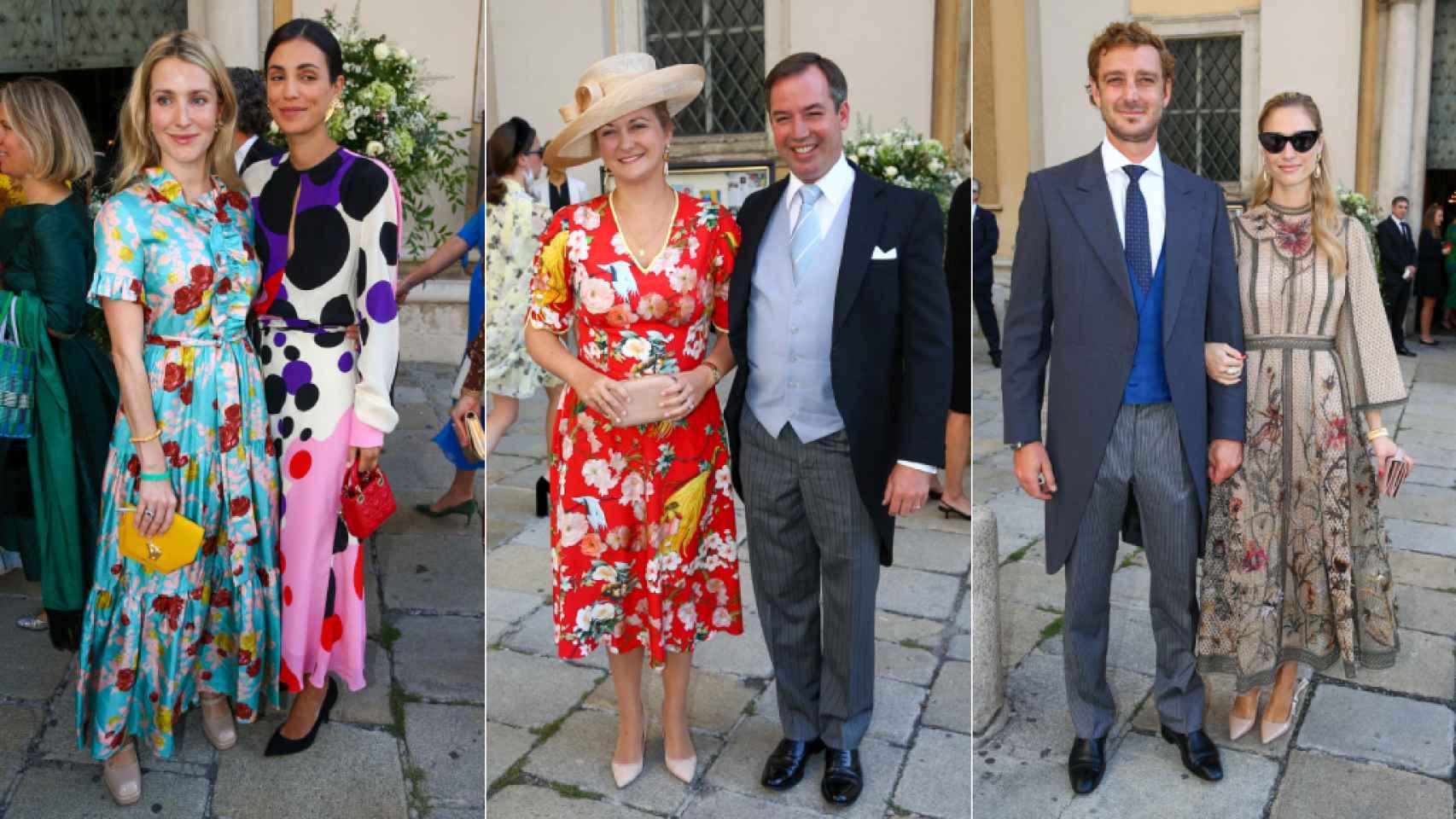 Invitados a la boda de Anunciata de Liechtenstein y Emanuele Musini.