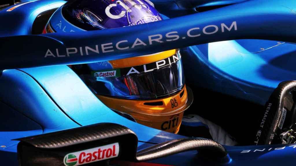 Fernando Alonso en el Gran Premio de Países Bajos