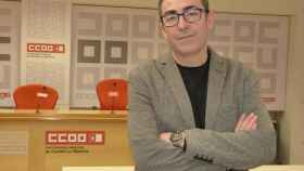 Paco de la Rosa, secretario general de CCOO en Castilla-La Mancha, en una imagen de archivo