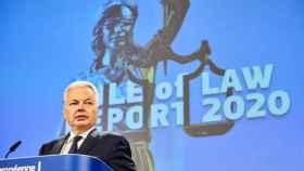 Didier Reynders, comisario de Justicia de la UE.