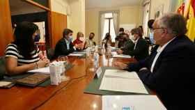 Comisión bilateral entre la Diputación de Alicante y la Generalitat.
