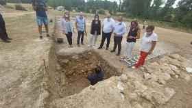 Destapan un importante hallazgo en el parque arqueológico de Noheda