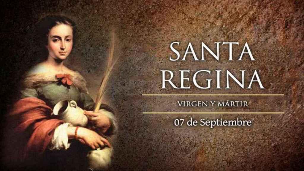 Santa Regina de Alesia.