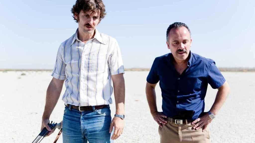 Javier Gutiérrez and Raúl Arévalo star in 'The minimal island'.