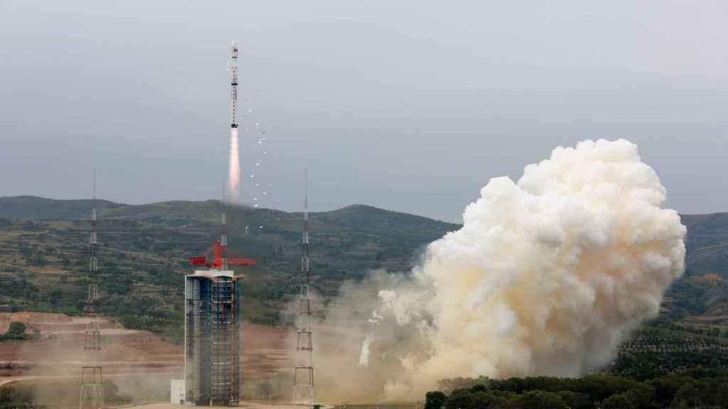 Lanzamiento de satélite chino