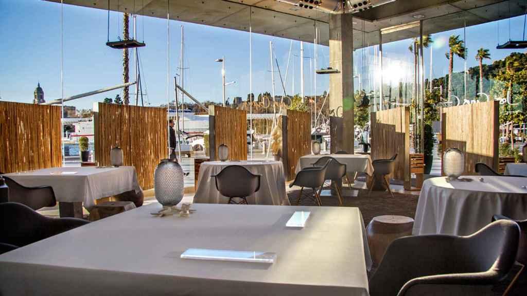 Imagen del restaurante José Carlos García, en Málaga.