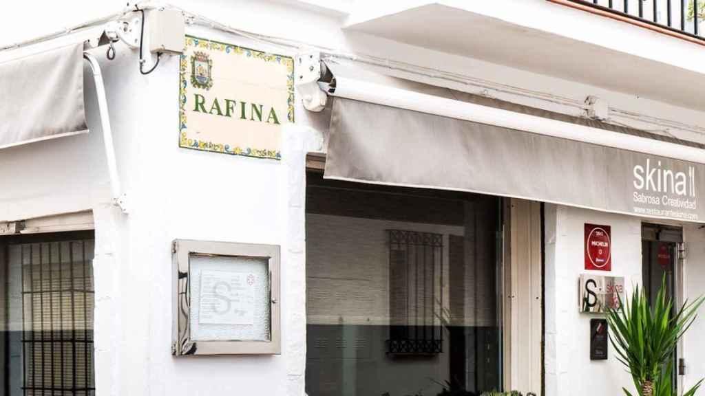 Imagen del restaurante Skina, en Marbella.