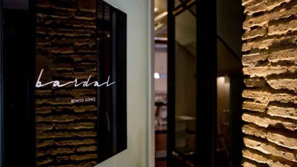 Imagen del interior del restaurante Bardal, en Málaga.