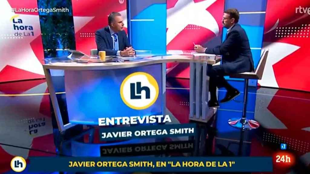 Críticas a 'La hora de La 1' por no rebatir a Ortega Smith: ¡Cómo se permite esta barbaridad!