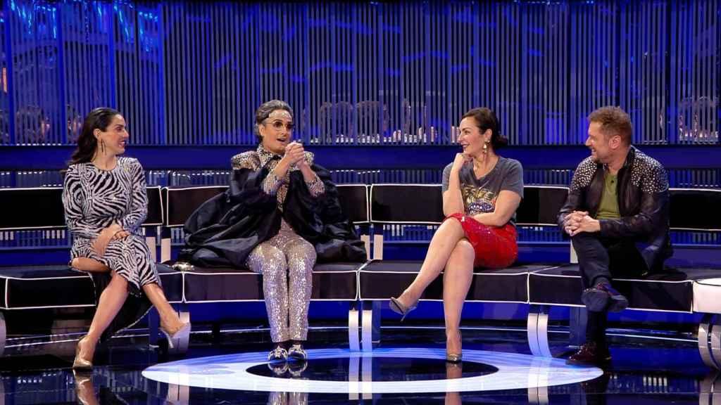 Ruth Lorenzo, Ana Milán, Josie y El Monaguillo son los asesores de 'Veo cómo cantas'.