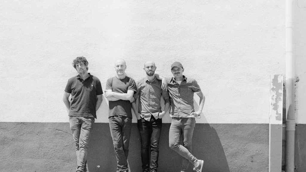 El pamplonica Edu Errea y su banda. Foto: Facebook.