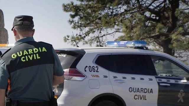 Imagen de un agente de la Guardia Civil.