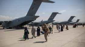 Aeropuerto de Kabul.