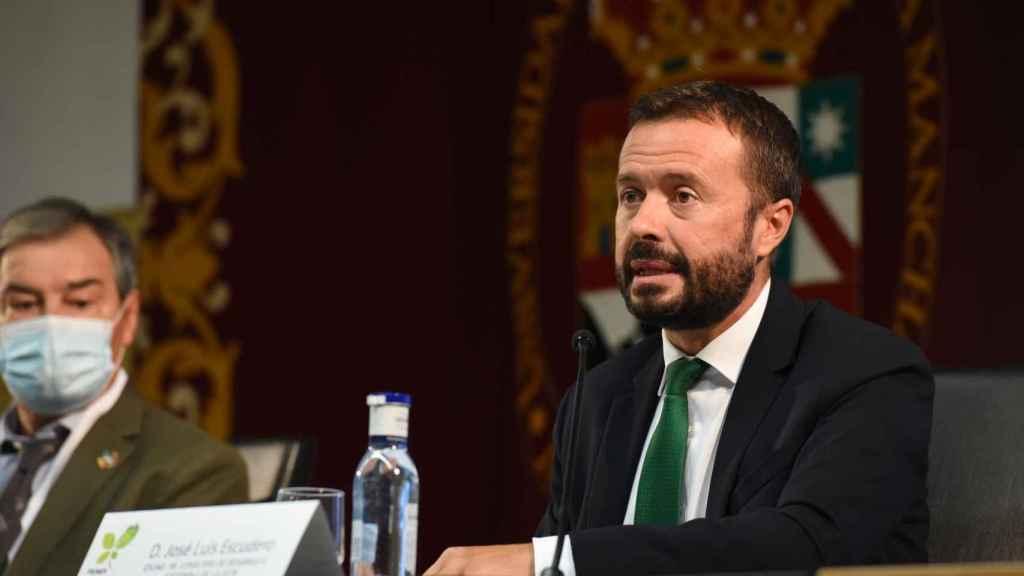 José Luis Escudero, consejero de Desarrollo Sostenible de Castilla-La Mancha.