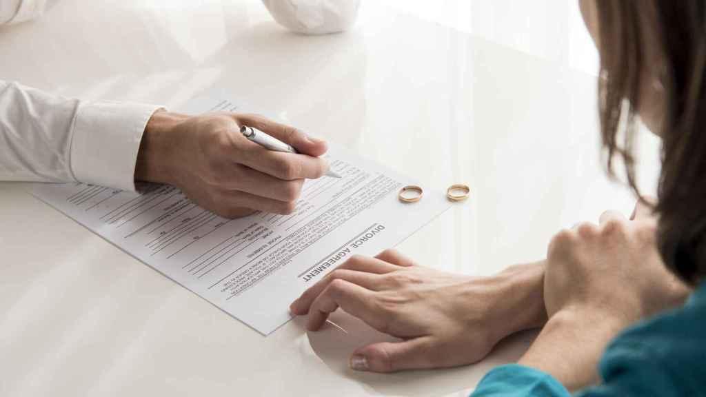 Divorcios durante el año 2020
