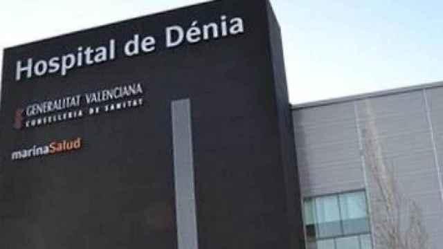 Fachada del Hospital de Dénia.