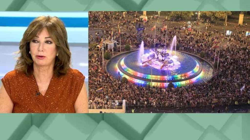 Ana Rosa Quintana asegura que ningún partido tiene un discurso de rechazo al colectivo LGTBI.