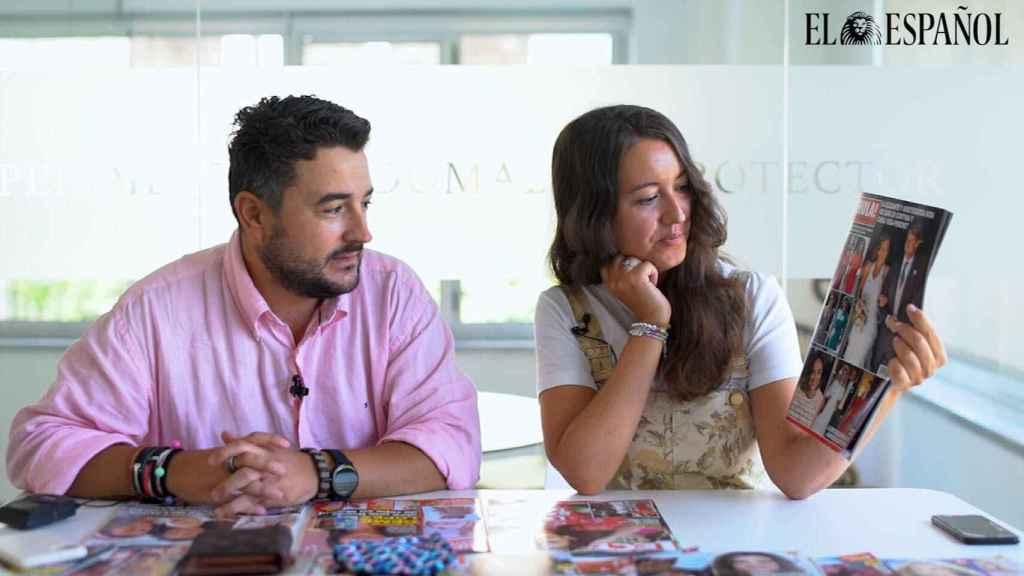 Jesús Carmona y Cristina Rodrigo.