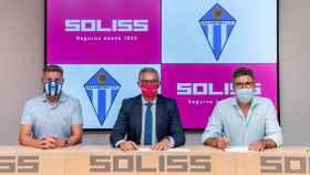 Renovación del patrocinio entre Soliss y Formac Villarrubia C. F.