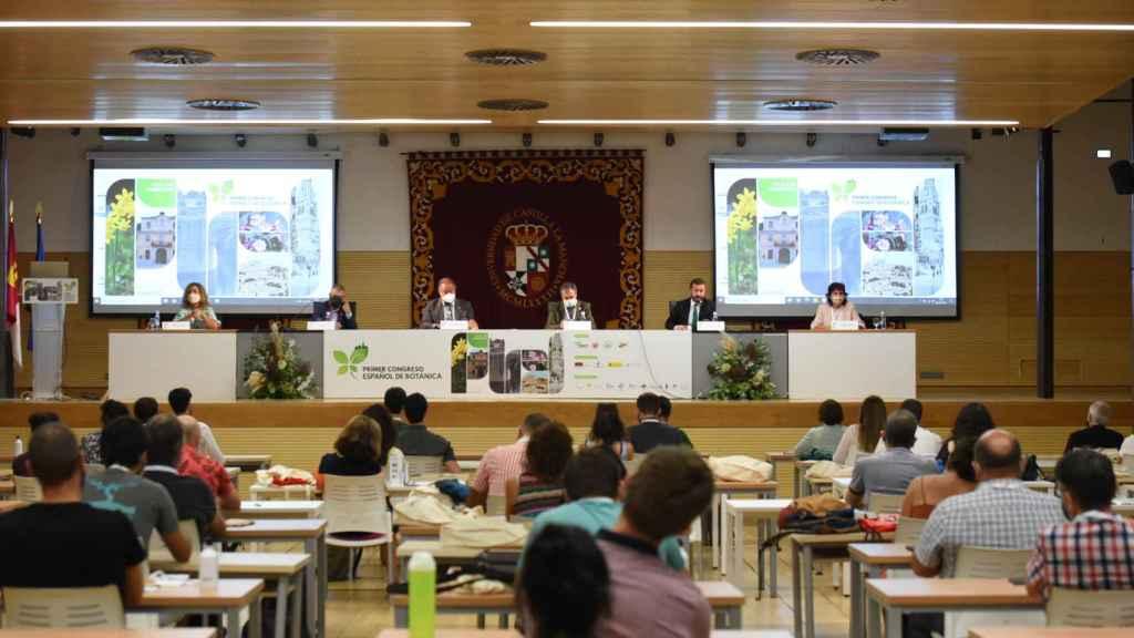 El  I Congreso Español de Botánica se celebra desde este miércoles en el campus de Toledo. Fotos: JCCM.