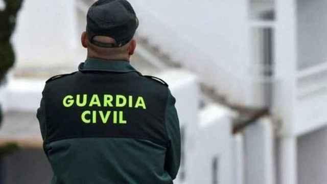 Un guardia civil en una imagen de archivo.