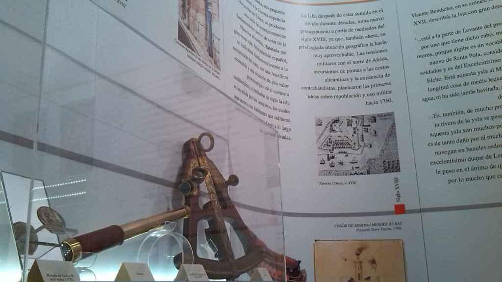 Museo de Tabarca.