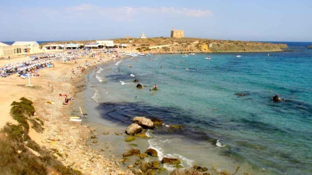 Playa de Tabarca.