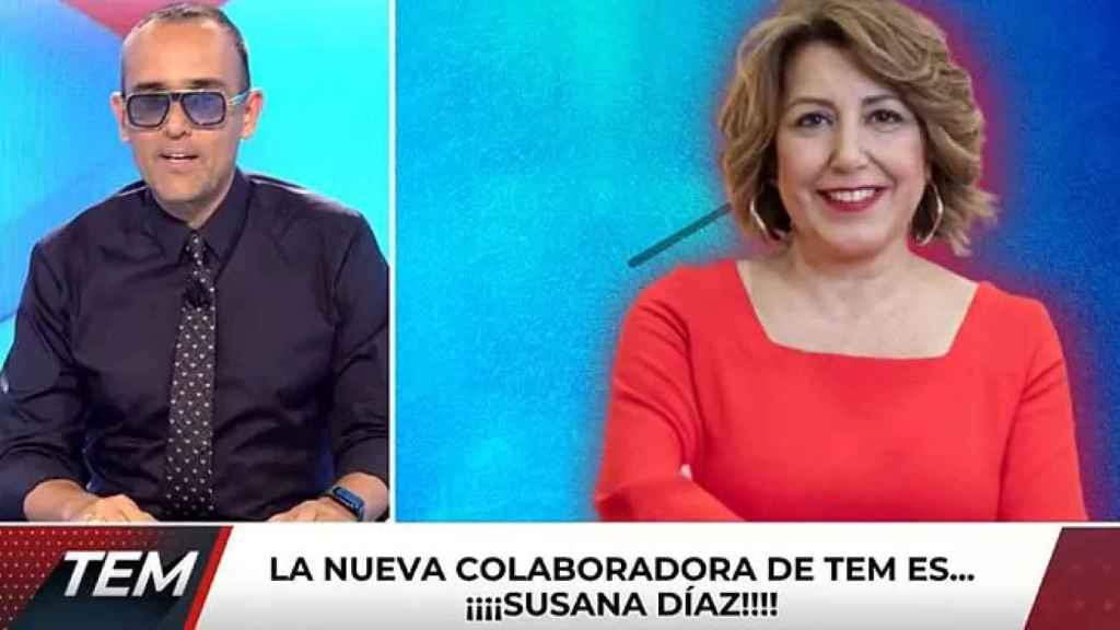 Risto vuelve a pescar en la política y ficha a Susana Díaz para 'Todo es mentira'