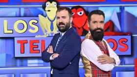 Antonio Castelo y Miguel Lago se estrenan como presentadores de 'Los teloneros'.