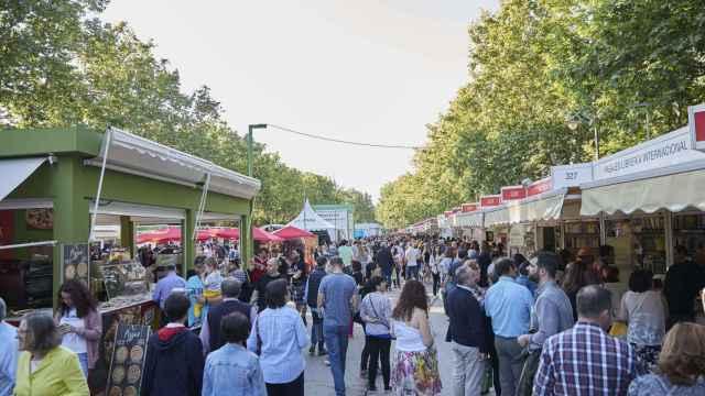 Feria del Libro de Madrid en 2019.