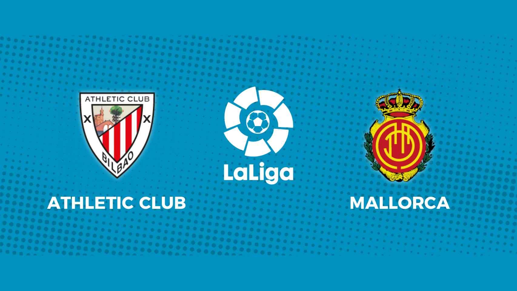 Athletic Club - Mallorca: siga en directo el partido de La Liga