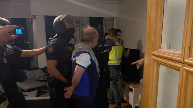 'El Pollo' Carvajal, tras su detención.