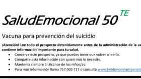 SaludEmocional50, la campaña del Teléfono de la Esperanza.