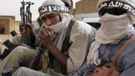 Terroristas de Al Qaeda en el Sahel.