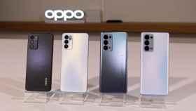 Así son los nuevos Oppo Reno6.