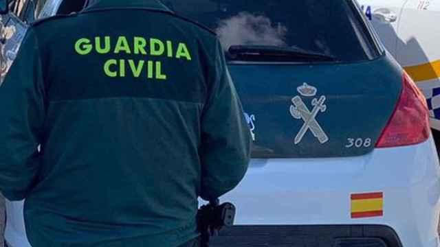 Agente de la Guardia Civil durante un operativo