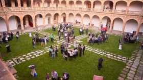La Hospedería del Colegio Arzobispo Fonseca acogió el pasado 8 de septiembre el inicio de la edición presencial de Startup Olé.