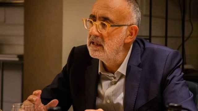Andrea Mangoni, consejero delegado de doValue, durante la entrevista con Invertia-EL ESPAÑOL.