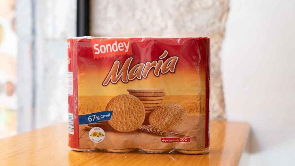 Las galletas María de Sondey, una de las marcas blancas de Lidl.