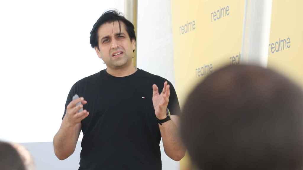 Madhav Sheth, CEO de realme para Europa.